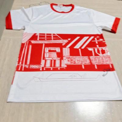 Singapore Batik T-Shirt